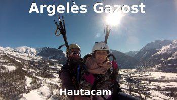 vol en parapente biplace à Argeles Gazost
