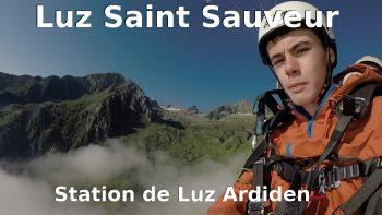Vol en parapente biplace à Luz Saint Sauveur