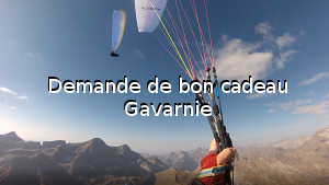 Demande de bon cadeau Gavarnie