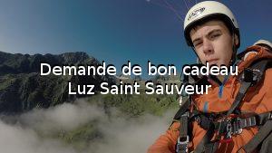 Demande de bon cadeau Luz Saint Sauveur